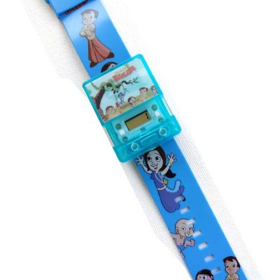 Chota Bheem Square Musical Digital Watch with Light for Kids