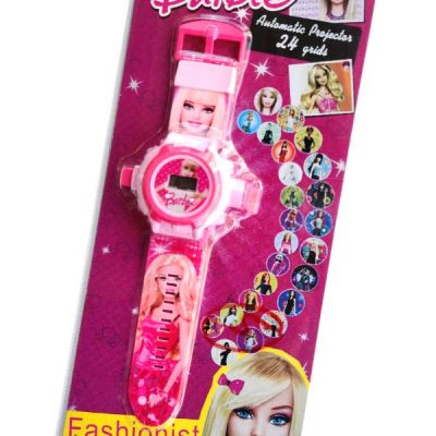 Trendilook Digital Barbie 24 Images Projector Toy Digital Watch for Kids