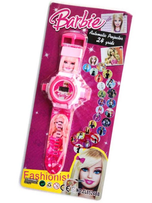 Trendilook Digital Barbie 24 Images Projector Toy Digital Watch for Kids