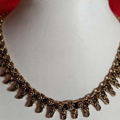 Trendilook German Gold Choker Neckpiece