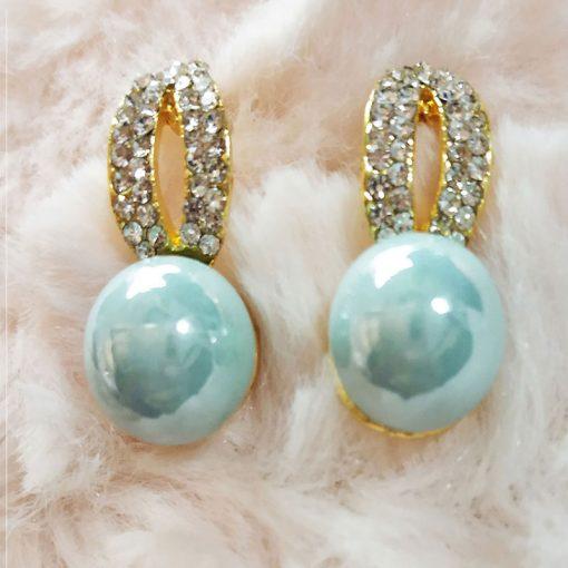 Trendilook Cute Blue Stone Stud Earring