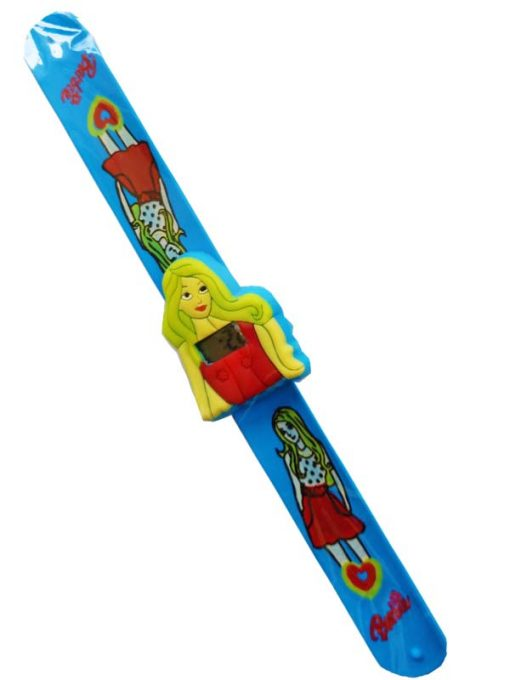 Trendilook Frozen Silicone Slap Band Digital Watch for Kids