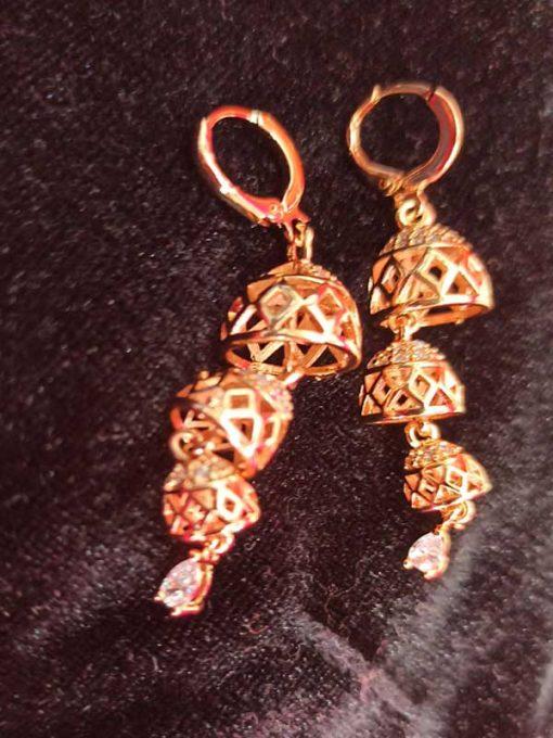 Trendilook AD Layered Jhumki Earring