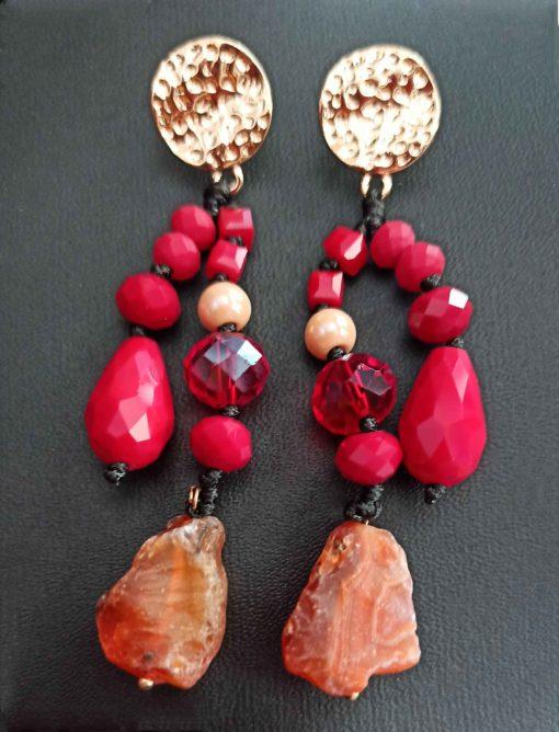 Trendilook Premium Quality Stone Drop Earring