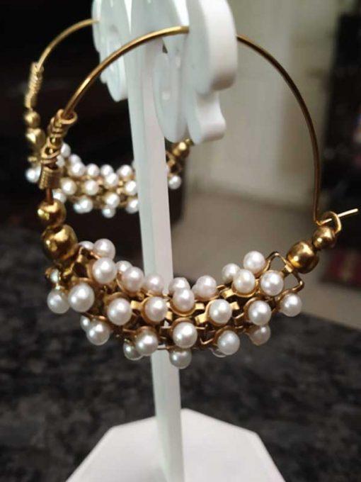 Trendilook Pearl Bali Earring