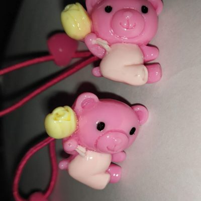 Trendilook Teddy Rubber band one Pair