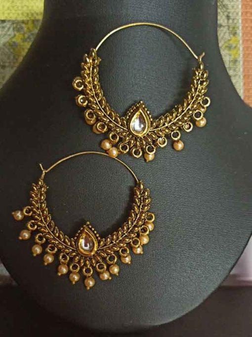 Trendilook Gold Plated Chandballi