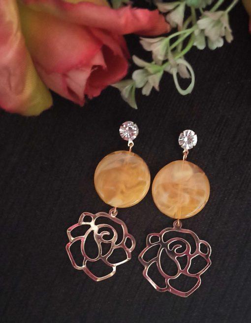 Trendilook Party Wear Drop Stone Earring