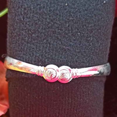 Trendilook German Silver Adjustable Bracelet for Ladies