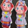 Trendilook Cute Doll Clips one Pair