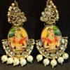Trendilook Wedding Wear Maharani Pearl Kundan Earring
