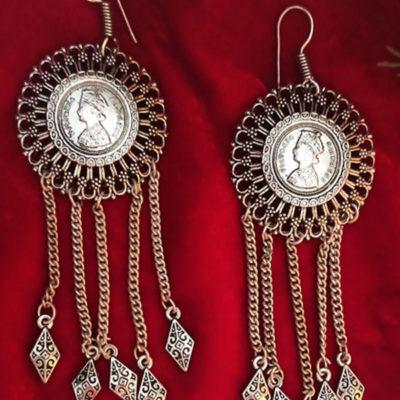 Trendilook Premium Quality German Silver Earring