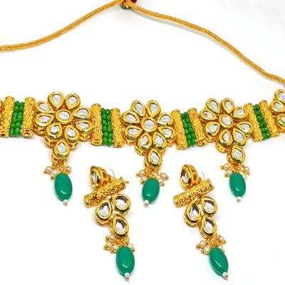Trendilook Premium Quality Party Wear Necklace Set