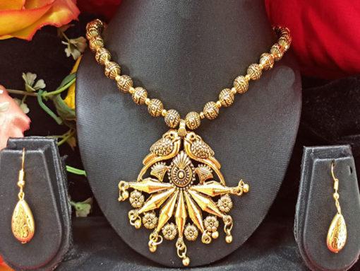 Trendilook Gold Plated Necklace Set